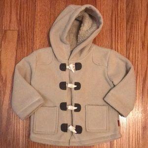 Pumpkin Patch Girls 12-18M Fleece Jacket EUC